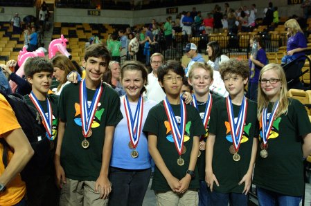 Palmetto Middle School - Ranatra Fusca Creativity Award Winners